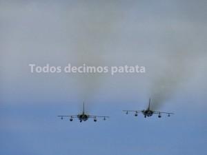 Salida de aviones militares en Escocia/ M.Moragues